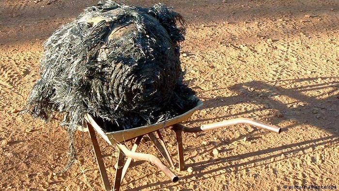 Ball of twisted metal discovered on a farm in Australia, believed to be space junk