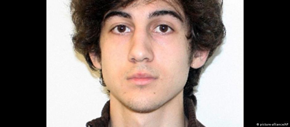 O acusado Dzhokhar Tsarnaev em foto de 2013, na época do atentado à maratona de Boston