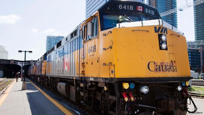 Kanada Zug Terrorverdacht