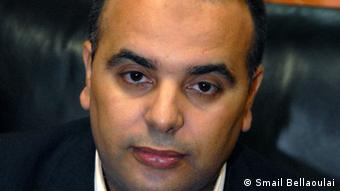 Bilal Talidi, Editor-in-Chief of attajdid newspaper<br /><br /> 22 April 2013, Rabat/ Marokko<br /><br /> copyrigth: Smail Bellaoulai<br /><br /> Zulieferer: Tarek Anegay<br /><br />