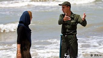 The authorities have tried to separate the sexes on Iran's beaches (Quelle: IPA.ir Lizenz: Frei)