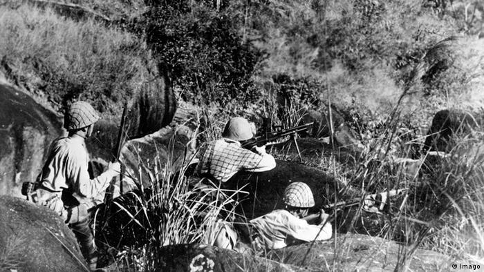 Japanische Soldaten in China zweiter Weltkrieg