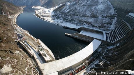 Wasserkraftwerk in Russland