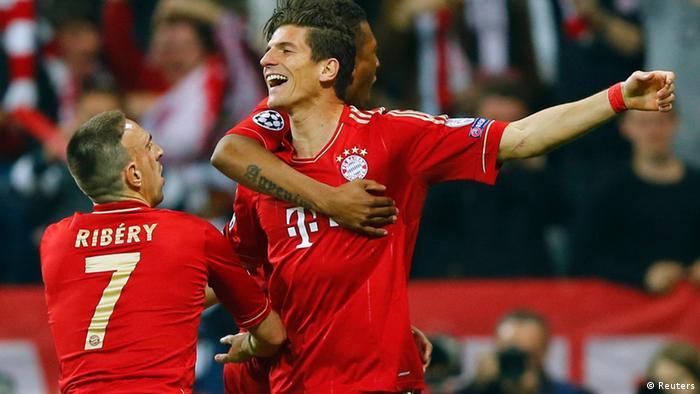 Champions League 2012/13 Halbfinale FC Bayern München FC Barcelona (Reuters)
