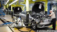 Mercedes Produktion in Sindelfingen