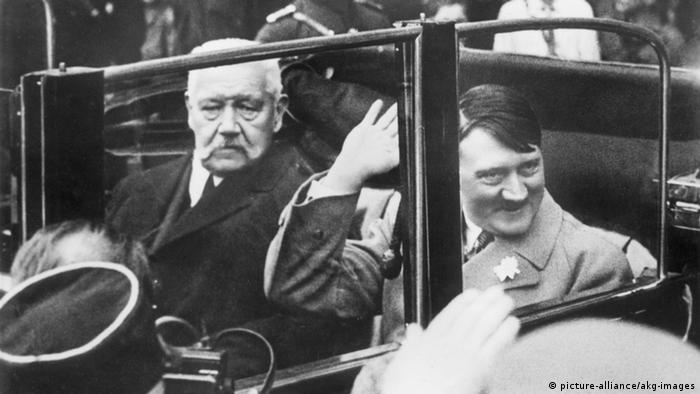 Hitler i Hindenburg, Berlin 1 maja 1933