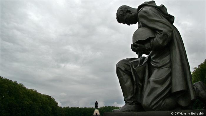 Трептов-парк в Берлине. Фото: DW / Максим Нелюбин