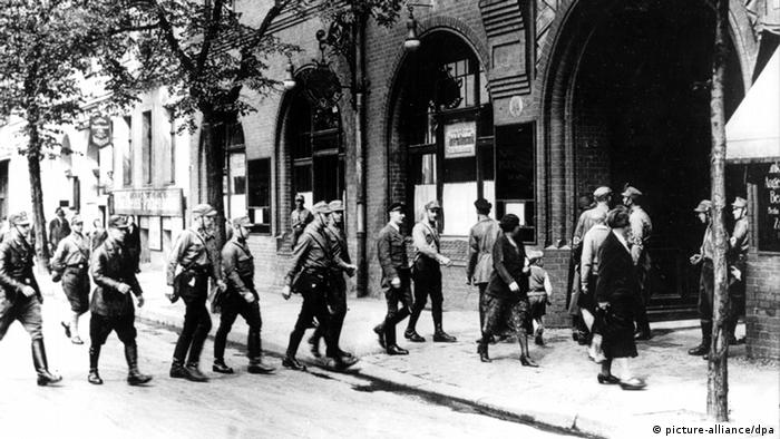 Захоплення німецьких профспілок штурмовими загонами