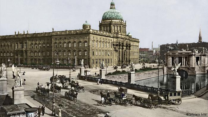 Deutschland Geschichte Berlin Stadtschloss um 1900