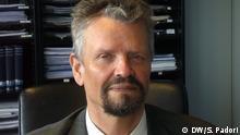 MdB Gernot Erler (nach dem Gespräch mit dem mazedonischen Außenminister Nikola Poposki)