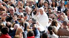 Rom - Papst Franziskus