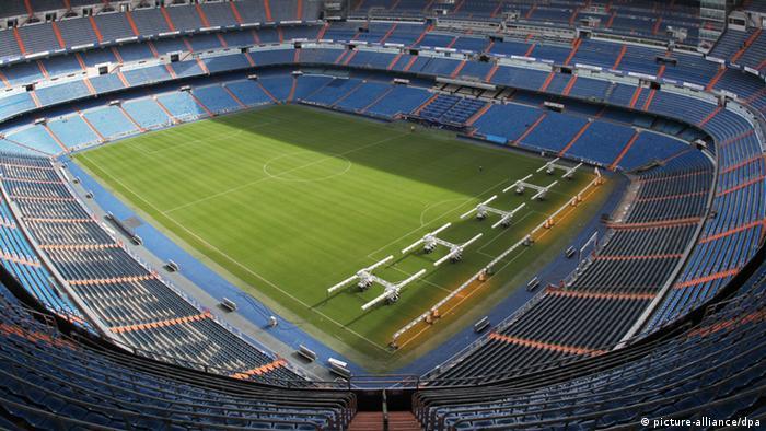 Estadio Bernabéu, del Real Madrid.