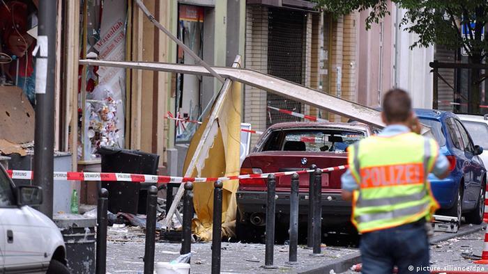 Urmele atentatului din oraşul renan Köln