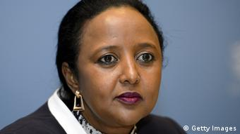 Amina mohammed, nominated for the post of foreign affairs minister (Photo:FABRICE COFFRINI/AFP/Getty Images)