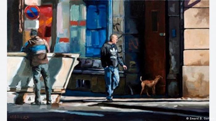 Kunstwerk Curious dog von Edward B. Gordon (Foto: www.edwardbgordon.blogspot.com)
