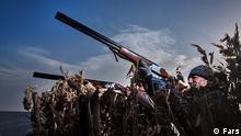 Titel: Jagd Bildbeschreibung: Jagdsession ist beendet. Stichwörter: Iran, KW17, Jage, Jäger Quelle: FARS