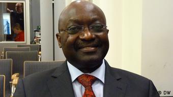Mpoko Bokanga, Chef von UNIDO (Foto: Thomas Mösch/DW)