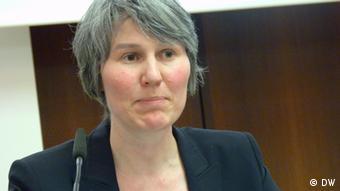 Birgit Wilhelm vom WWF Deutschland (Foto: Thomas Mösch/DW)