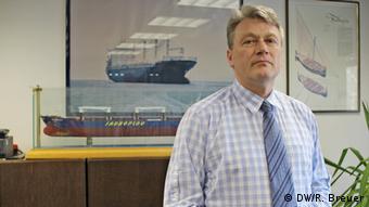 Sinisa Ostojic, Marketingchef der Croatian Shipbuilding Corporation (Foto: DW/Rayna Breuer)