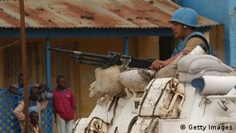 UN peacekeepers in Congo. (Photo by Spencer Platt/Getty Images)
