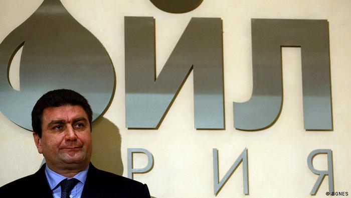 Bulgarien Chef von Lukoil-Bulgarien Valentin Zlatev