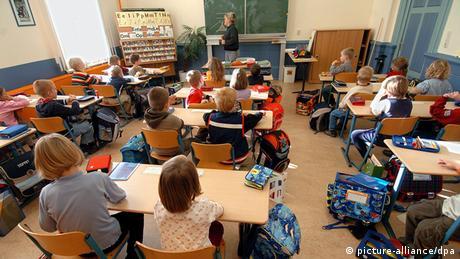 Symbolbild Deutschland Bildungspaket Schulklasse in Schwerin