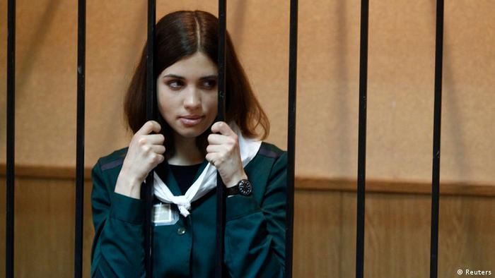 Nadeschda Tolokonnikowa 26.04.2013 (Reuters)