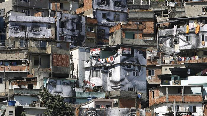 Проект JR в Рио-де-Жанейро