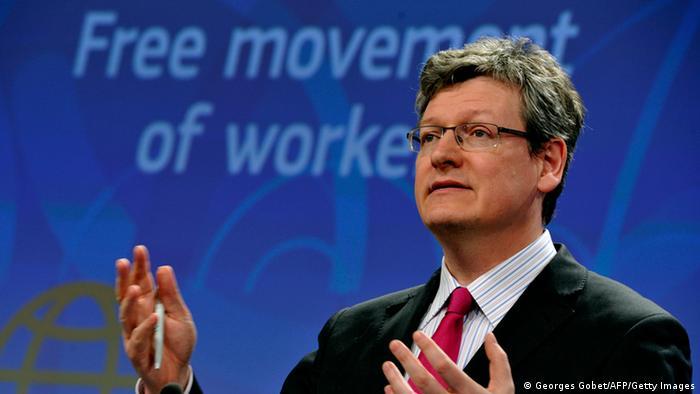 Comisarul european al muncii, Laszlo Andor