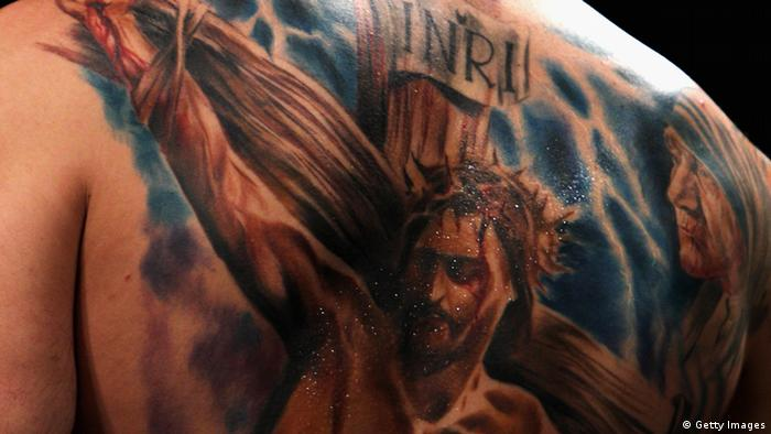 tattoo Photo: Dean Mouhtaropoulos/Getty Images