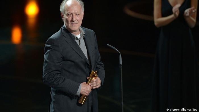 Werner Herzog bei der Verleihung des Deutschen Filmpreises 2013 (picture-alliance/dpa)