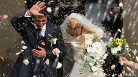 Symbolbild Hochzeit Heirat Ehe