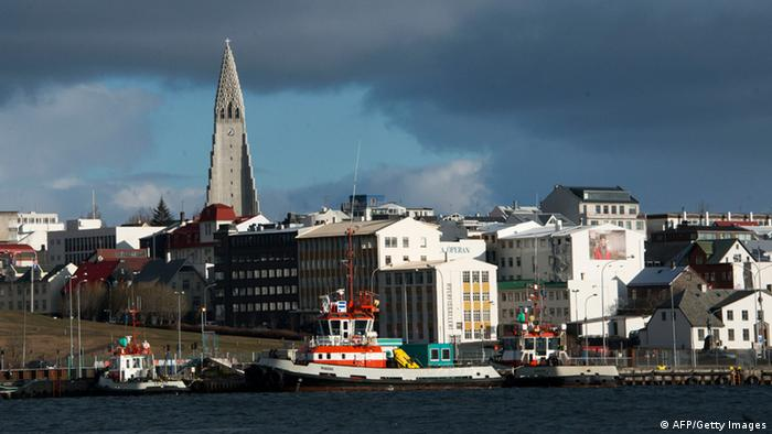 This picture taken on April 25, 2013 in Reykjavik. (Photo: HALLDOR KOLBEINS/ AFP/Getty Images)