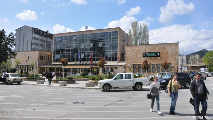 Kosovska Mitrovica - Stadt im Kosovo