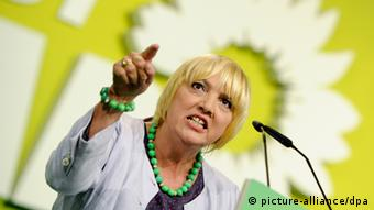 Bundestag vice-president Claudia Roth from the Greens (Photo: Ole Spata/dpa)