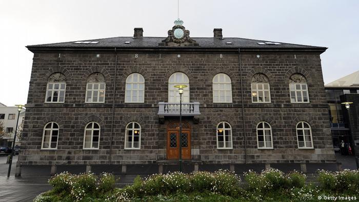 Здание парламента Исландии - альтинга