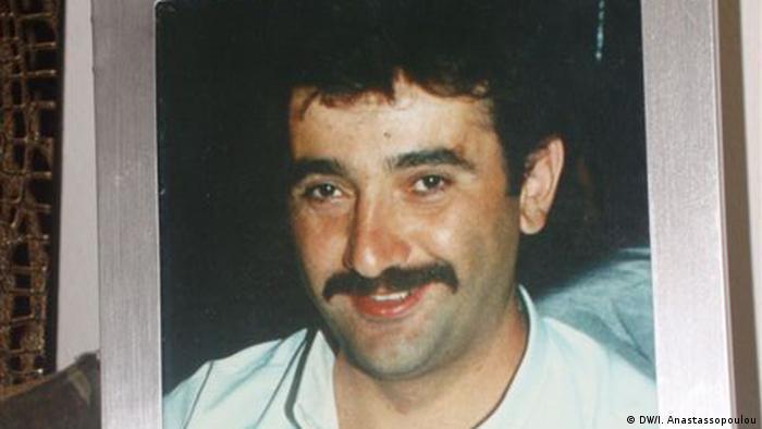 Privatfoto von NSU-Opfer Theodoros Boulgarides. (Foto: DW/ I. Anastassopoulou)