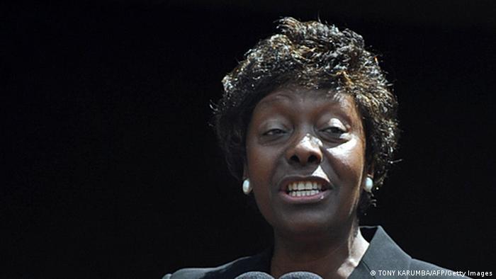 Kenyan politician Charity Ngilu