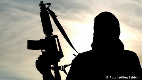 Symbolbild islamistischer Kämpfer