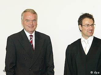 Pfahls (left) could be free as early as September