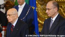 Italien Enrico Letta wird als Ministerpräsident vereidigt