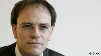 Stefan Hardege, experto de la DIHK.