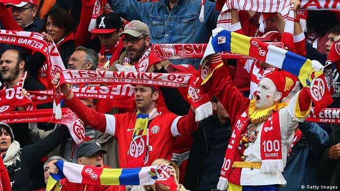 Fußball Bundesliga 1. FSV Mainz 05 Eintracht Frankfurt