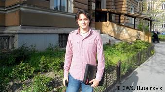 Ernad Comaga Student aus Bosnien und Herzegowina