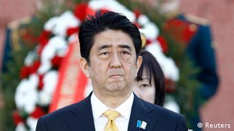 Japan Shinzo Abe in Moskau 29.04.2013