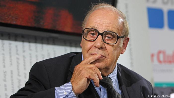 Jean Ziegler at the Frankfurt Book Fair in 2009.
