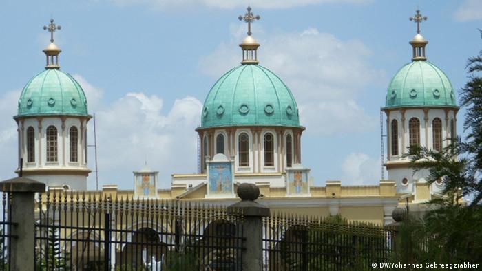 Orthodox Church in Addis Abeba (DW/Yohannes Gebreegziabher)