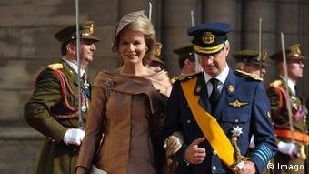 Philipp and his wife Princes Mathilde. (Copyright: imago/Reporters)