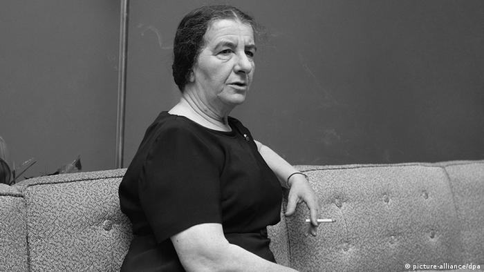 Golda Meir foi a primeira premiê mulher de Israel