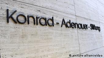 Deutschland Parteien CDU Konrad Adenauer Stiftung Gebäude in Sankt Augustin (picture-alliance/dpa)